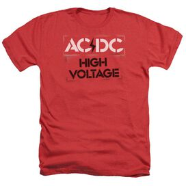 Acdc High Voltage Stencil Adult Heather