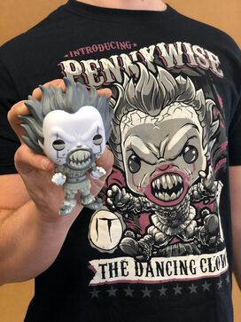 Funko Pop! IT Collectors Box: Pennywise Black & White Pop & T-Shirt (Medium)