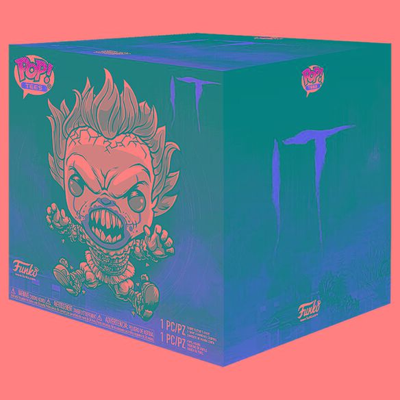 Funko Pop! IT Collectors Box: Pennywise Black & White Pop & T-Shirt
