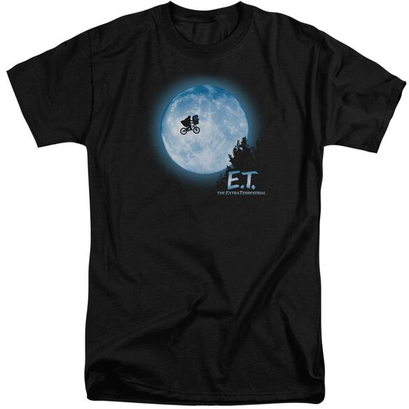 Et Moon Scene Short Sleeve Adult Tall T-Shirt
