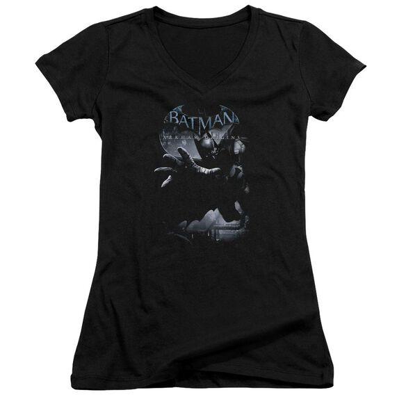 Batman Arkham Origins Out Of The Shadows Junior V Neck T-Shirt