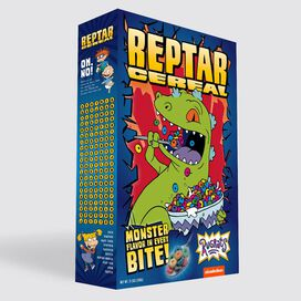 Rugrats Exclusive Reptar Cereal