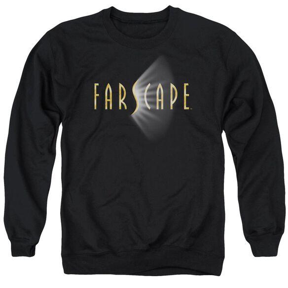 Farscape Logo - Adult Crewneck Sweatshirt - Black