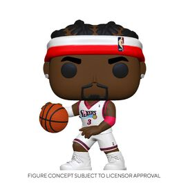 Funko Pop! NBA: Legends- Allen Iverson (Sixers Home)