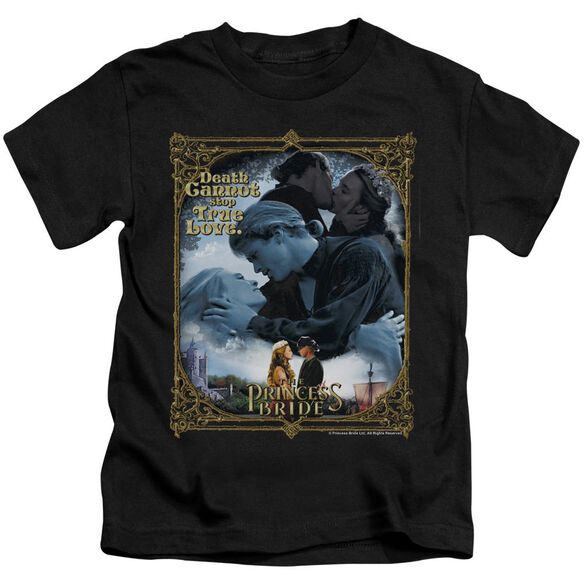 Princess Bride Timeless Short Sleeve Juvenile Black T-Shirt