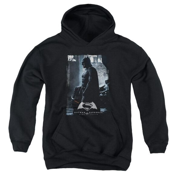 Batman V Superman Bat Poster Youth Pull Over Hoodie
