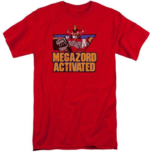 Power Rangers Megazord Activated Short Sleeve Adult Tall T-Shirt