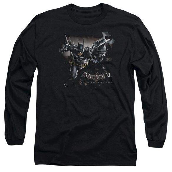 Batman Arkham Knight Grapple Long Sleeve Adult T-Shirt