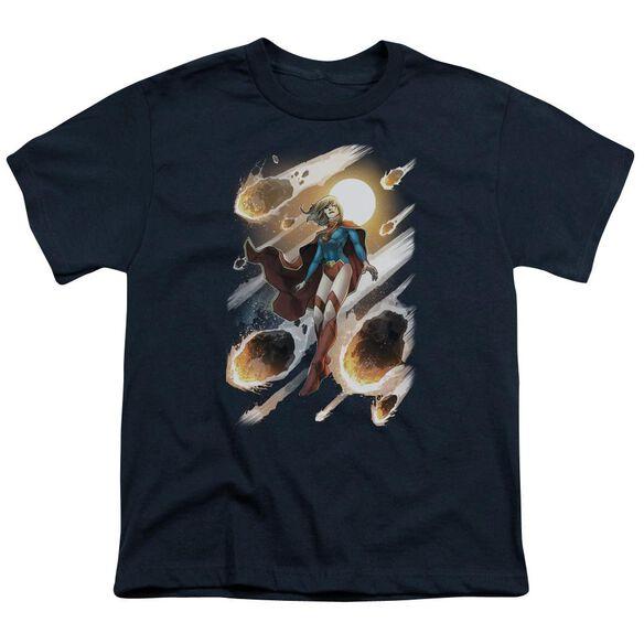 Jla Supergirl #1 Short Sleeve Youth T-Shirt