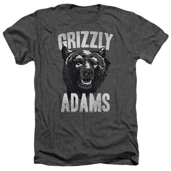 Grizzly Adams Retro Bear Adult Heather