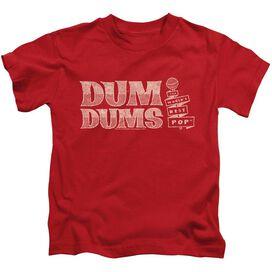 DUM DUMS WORLDS BEST - S/S JUVENILE 18/1 - RED - T-Shirt