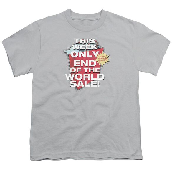 End Of The World Sale Short Sleeve Youth T-Shirt