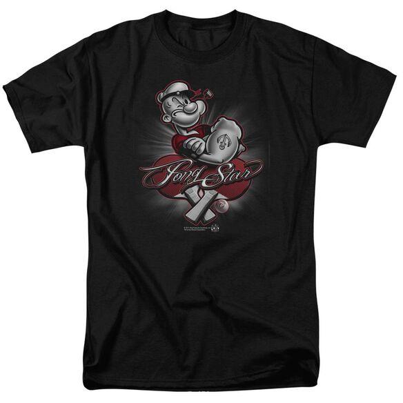 Popeye Pong Star Short Sleeve Adult T-Shirt