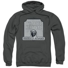 Grizzly Adams Survival Adult Pull Over Hoodie