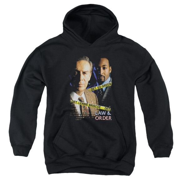 Law And Order Briscoe And Green Youth Pull Over Hoodie