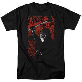 Friday The 13 Th Jason Lives Short Sleeve Adult T-Shirt