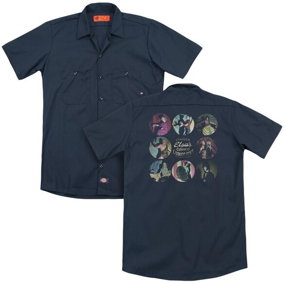 American Horror Story Cabinet Of Curiosities (Back Print) Adult Work Shirt