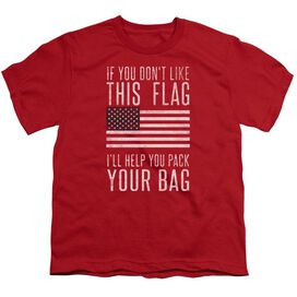 Pack Your Bag Short Sleeve Youth T-Shirt