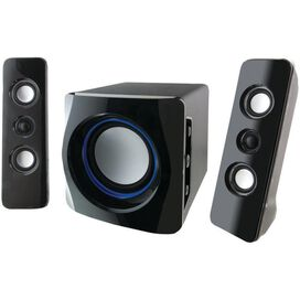 iLive IHB23B 2.1 Bluetooth Speakers BLACK