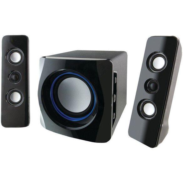 iLive IHB23B 2.1 Bluetooth Speakers BLACK