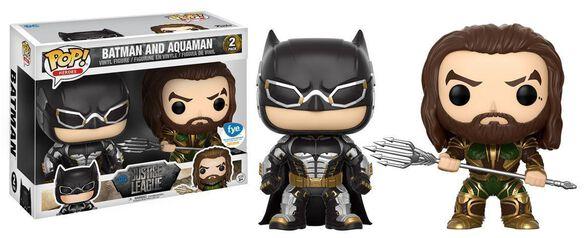 Batman & Aquaman 2 pack Exclusive Funko Pop
