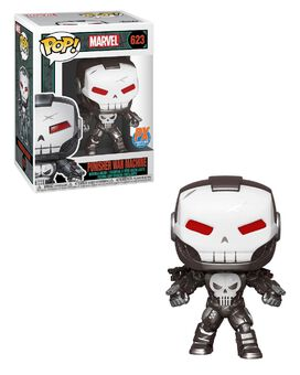 Funko Pop! Marvel: Punisher War Machine [PX Previews Exclusive]