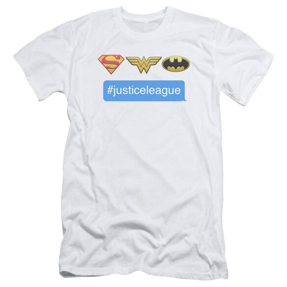 Dc Hashtag Jla Short Sleeve Adult T-Shirt