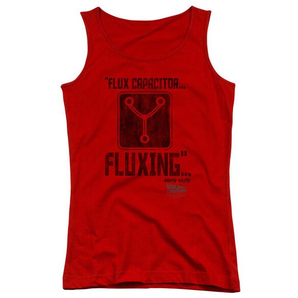 Back To The Future Fluxing Juniors Tank Top
