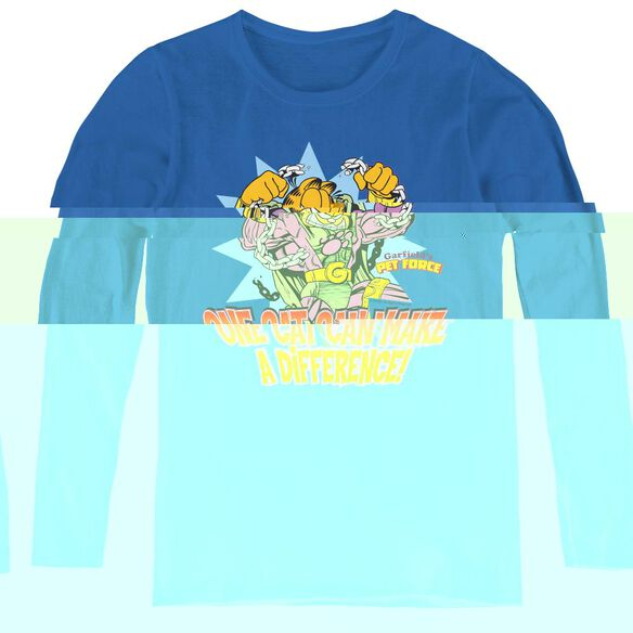 Garfield Make A Difference-womens Long Sleeve