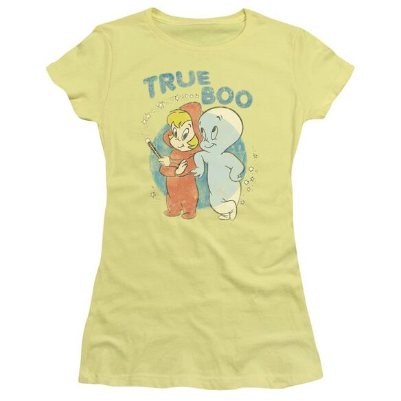Casper True Boo Short Sleeve Junior Sheer T-Shirt