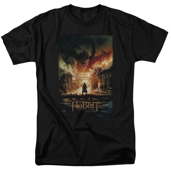 Hobbit Smaug Poster Short Sleeve Adult T-Shirt