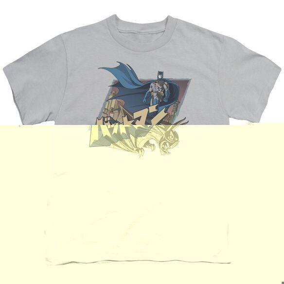BATMAN JAPANESE KNIGHT - S/S YOUTH 18/1 - SILVER T-Shirt