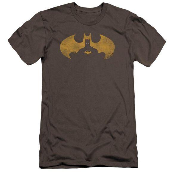 Batman Bat Symbol Knockout Premuim Canvas Adult Slim Fit