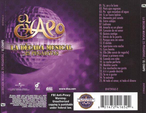 Decada Musical 25 Pegadit