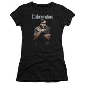 Californication Smoking Short Sleeve Junior Sheer T-Shirt