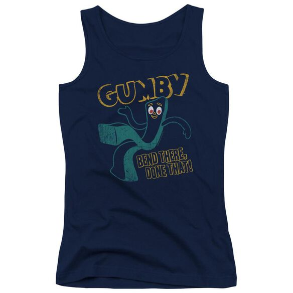 Gumby Bend There Juniors Tank Top