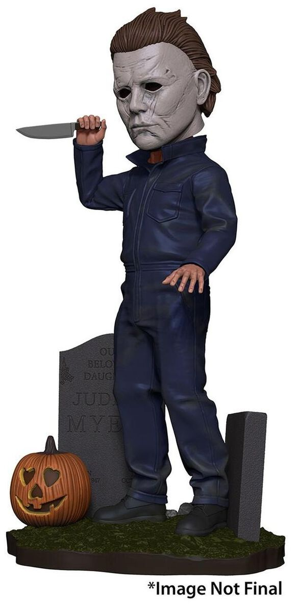 NECA Halloween 2018 Head Knocker Michael Myers Bobble Head [2018 Version]