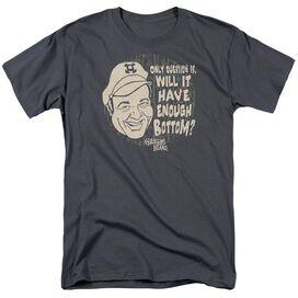 Gilligans Island Enough Bottom Short Sleeve Adult Charcoal T-Shirt