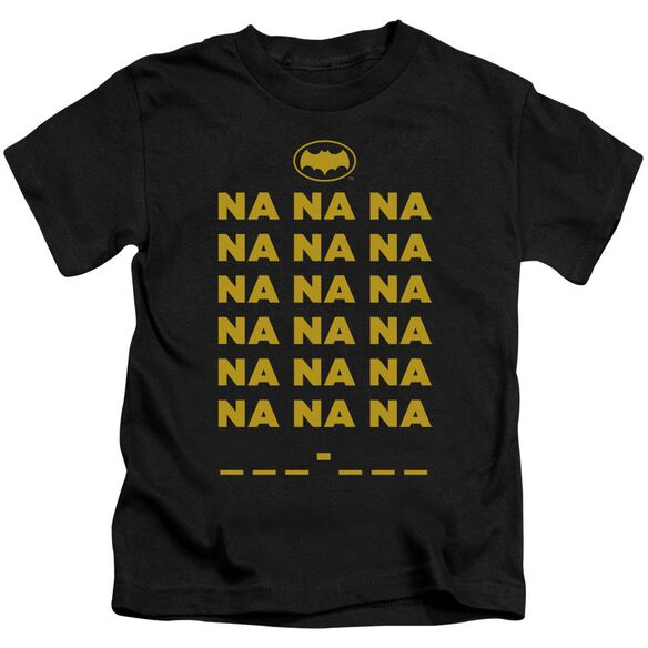 Batman Classic Tv Na Na Na Short Sleeve Juvenile T-Shirt