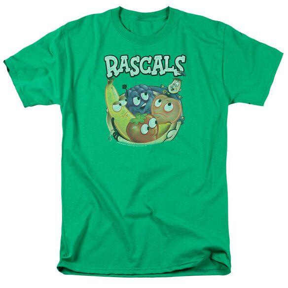 Dubble Bubble Rascals Short Sleeve Adult Kelly Green T-Shirt