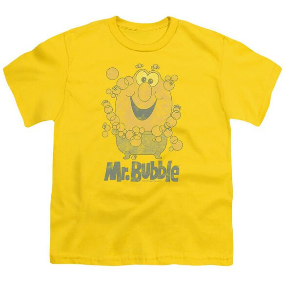 Mr Bubble Classy Classic Short Sleeve Youth T-Shirt