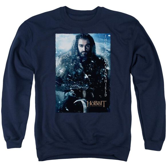 The Hobbit Thorin Poster Adult Crewneck Sweatshirt