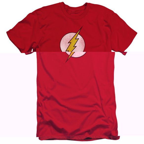 DC FLASH FLASH LOGO DISTRESSED-HBO S/S T-Shirt