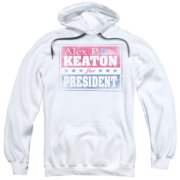 Family Ties Alex For President Adult Pull Over Hoodie