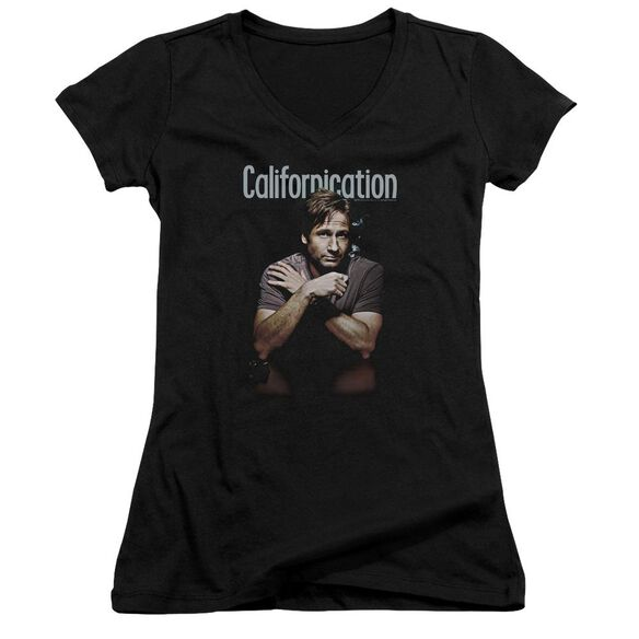 Californication Smoking Junior V Neck T-Shirt