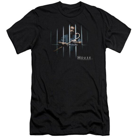 House Behind Bars Short Sleeve Adult T-Shirt