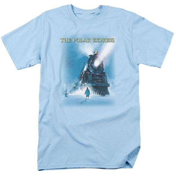 Polar Express Big Train Short Sleeve Adult Light T-Shirt