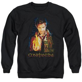 Constantine Devil You Know Adult Crewneck Sweatshirt