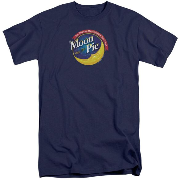 Moon Pie Current Logo Short Sleeve Adult Tall T-Shirt