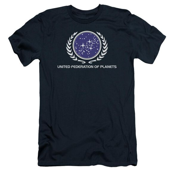Star Trek United Federation Logo Short Sleeve Adult T-Shirt
